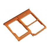 Nano Sim Tray Samsung SM-A405FN Galaxy A40 Coral Original GH98-44303D