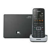 Dect/Gap Gigaset SL450 Silver - Black with Metal Design, Bluetooth and Micro USB