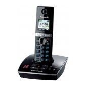 Refurbished (Exhibition) Dect/Gap Panasonic KX-TG8051GRB Black with Full Color LCD Screen and Answering Machine