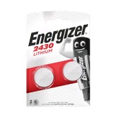Buttoncell Lithium Energizer CR2430 Pcs. 2
