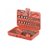 Screwdriver fixpoint 113 pcs Set. Star, Philips, Triangle. Includes Storage Box