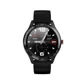 Maxcom Smartwatch FitGo FW33 Cobalt IP68 300mAh Black Silicon Band