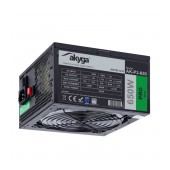 Power Supply ATX Akyga AK-P3-650 P4+4 PCI-E 6 pin 6+2 pin 5x SATA Molex PPFC RGB FAN 12cm