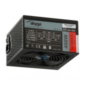 Power Supply ATX Akyga AK-U4-400 400W P4+4 PCI-E 6 pin 6+2 pin 6x SATA APFC 80+ bronze FAN 12cm