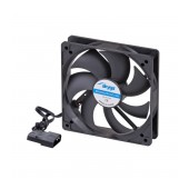 Case Fan Akyga AW-12A-BK 120mm Molex Black