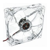 Case Fan Akyga AW-12B-BG 120mm 3-pin with 4 LED Green