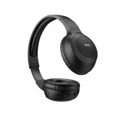 Wireless Stereo Headphone Hoco W29 Outstanding Black with Microphone, Micro SD, AUX port and Control Buttons