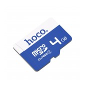 Flash Memory Card Hoco MicroSDHC 4GB Class 6