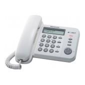 Panasonic  KX-TS580EX1WW White with Speaker Phone