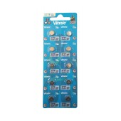 Buttoncell Vinnic 377F SR66 Pcs. 10 with Perferated Packaging