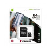 Micro SDHC 32GB Kingston Canvas Select Plus + Adapter SDCS2/64GB