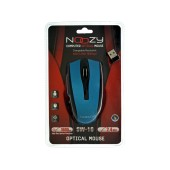 Wireless Mouse Noozy SW-16 USB 6D 2.4GHz with 6 Buttons and 1600DPI Black-Red