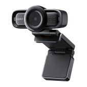 USB Webcam PC Aukey PC-LM3 1080p/30fps Black with Built in Microphone Auto Focus