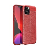 Case AutoFocus Shock Proof for Apple iPhone 12 Pro Red