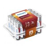Battery Alkaline Philips Power Alkaline LR03 size AAA 1.5 V Psc. 24
