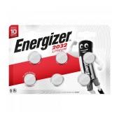 Buttoncell Lithium Energizer CR2032 Pcs. 6