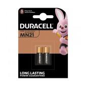 Alkaline Battery Duracell Long Lasting Power MN21 size A23/23A/23GA/A23/E23A/G23A/K23A/L1028/LR23A/LRV08/LRVO8/MN21/MS21/V23/V23GA/VR22 V Psc. 2