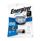 Energizer Vision Headlight 2 Led 200 Lumens with Batteries 3 x AAA Blue