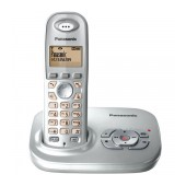 Refurbished (Exhibition) Dect/Gap Panasonic KX-TG7321GRS Silver with Answering Machine