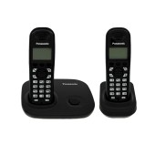 Refurbished (Exhibition) Dect/Gap Panasonic KX-TG7302GRB Black with Double