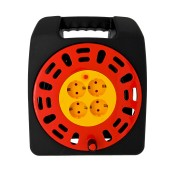 Power Strip with Cable Reel OXP-G25M with 4 Schuko, Thermal Cut-Out Button and 20 m. Cable (230V 2200W)