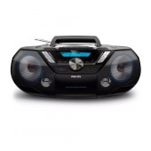 HiFi System Philips 12W AZB798T/12 Black with MP3-CD, CD και CD-R/RW and Bluetooth