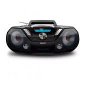 HiFi System Philips 12W AZB798T/12 Black with MP3-CD, CD και CD-R/RW and Bluetooth