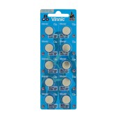 Buttoncell Vinnic 357F SR44 303 / 357 Pcs. 10 with Perferated Packaging
