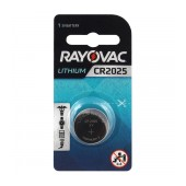 Buttoncell Lithium Electronics Rayovac CR2025 Pcs. 1