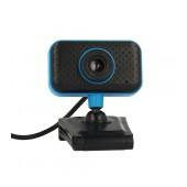 USB Webcam PC C11 Full HD 720p Μαύρo-Μπλέ Build In Plug and Play Hi Speed Usb 2.0