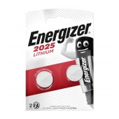 Buttoncell Lithium Energizer CR2025 Pcs. 2