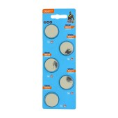 Buttoncell Vinnic CR2477 3V Pcs. 5 with Perferated Packaging