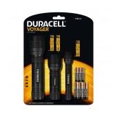 Duracell Voyager Flashlights TRIO-E Led Black 70 / 60 / 50 Lumens