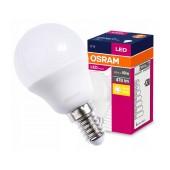 LED Lamp Osram E14 5.5W 470 Lumen 230V 50Hz A+ 2700K Size Bulb