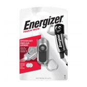 Flashlight and Keychain Energizer Touch Tech Silver 20 Lumens with Touch On Sensor