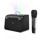 Wireless Speaker Hoco BS41 Warm Sound Black V5.0 20W, 2400mAh, USB & AUX Port and Micro SD with Wireless Microphone
