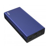 Power Bank Hoco J66A Fountain 20000mAh with 4 USB Ports 2A and LED Indicators Blue