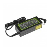 Laptop Power Supply Green Cell PRO for Asus F553 ZenBook 19V 3.42A 65W Connector 4.0-1.35mm Cable 1.2m