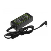 Laptop Power Supply Green Cell PRO for Asus X201E Vivobook F200CA F200MA 19V 1.75A 33W Cable 1.2m