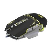 Wired Mouse iMICE V9 Gaming 7D with 7 Buttons, 4800 DPI, Multimedia and LED Lightning. Black-Grey
