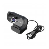USB Webcam Inker HD-R70 640X480 with Build In Microphone that Connects with 3.5mm and Large Perspective Black