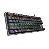 Wired Mechanical Keyboard iMICE MK-X60 USB with LED Backlight, Multimedia Keys. 87 Keys Black