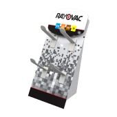 Stand Table Rayovac for Aid Batteries Batteries with 4 Hooks