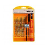 Tool Set Jackly JK 6066-B 33 to 1 with Carrying Case Yellow