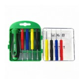 Screwdriver Set Bakku BK-6008 8 in 1 with 8 Tips and Packaging Case