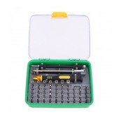 Screwdriver Kaisi K-T9051 with Storage Box 50 in 1 with Tweezer and extra Handle