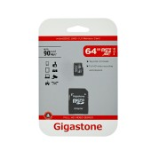 Flash Memory Card Gigastone MicroSDXC UHS-1 64GB C10 Full HD Video Series with Adapter up to 90 MB/s*