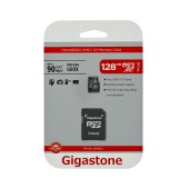 Flash Memory Card Gigastone MicroSDXC UHS-1 128GB C10 Prime Series with Adapter up to 90 MB/s