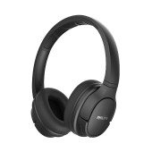 Bluetooth Stereo Headphone Philips TASH402BK/00  V5.0 Built-in microphone Black User-friendly button control IPX4