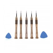Screwdrivers Kaisi K-5222 5 Pcs and 2 Plastic Opening Tools